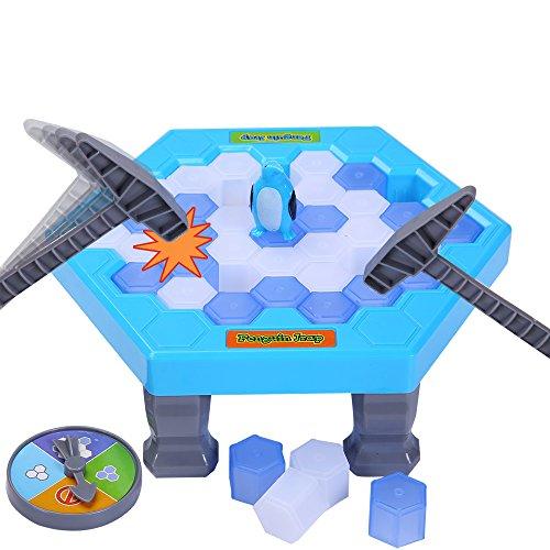 PlayMaty pingüino Juego de la trampa Juegos de juguete Roper el hielo Interactivo padre-hijo Juego de entretenimiento Juguetes educativos Guardar el pingüino Juegos de mesa