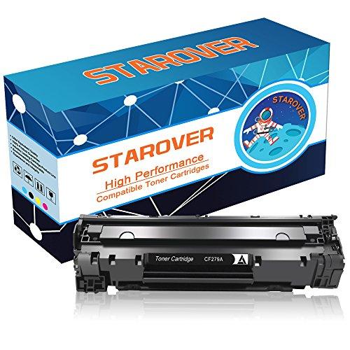 STAROVER 1x CF279A (79A) / CF 279A Kompatible Schwarz Tonerkartuschen Ersatz für HP LaserJet Pro MFP M26 M26nw M26a HP LaserJet Pro M12 M12w M12a Drucker, 1000 Seiten / Toner