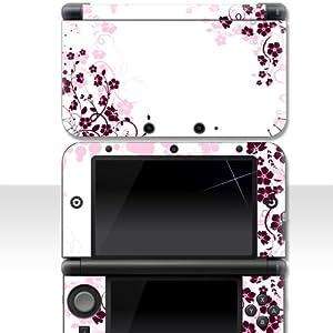 """Nintendo 3DS XL Skin """" PINK ROSE """" Aufkleber Sticker Folie Schutzfolie"""