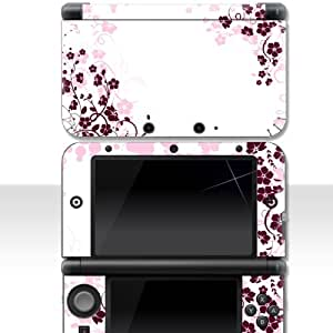 nintendo 3ds xl skin pink rose aufkleber sticker folie schutzfolie games. Black Bedroom Furniture Sets. Home Design Ideas