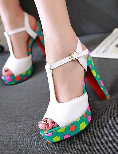 LFNLYX Scarpe Donna-Sandali / Ballerine / Sneakers alla moda / Ciabatte / Solette interne e accessori-Matrimonio / Ufficio e lavoro / Formale / White