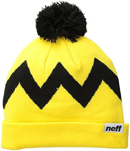 Neff, Cappellino Uomo Charlie, Multicolore (Yellow/Black), Taglia unica