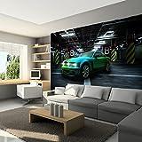 murando - Fototapete 200x140 cm - Vlies Tapete - Moderne Wanddeko - Design Tapete - Wandtapete - Wand Dekoration - Auto i-A-0011-a-a