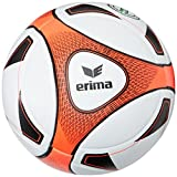 erima Ball Hybrid Match, weiß/neon orange, 5, 719509