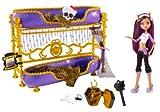 Mattel W2577 - Monster High Clawdeens Todschickes Etagenbett, Puppe und Zubehör