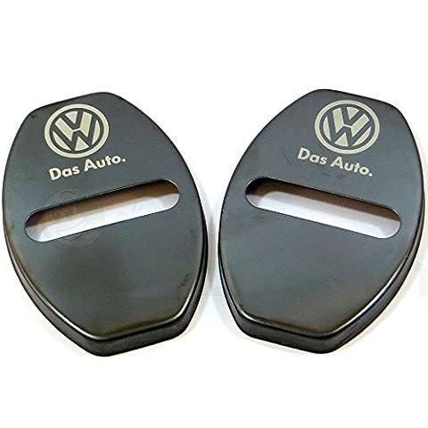 Serrure Auto Volkswagen - 2x cache crochet battant voiture Coque couverture
