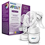 Philips Avent SCF330/20 Komfort-Handmilchpumpe, transparent (Bild: Amazon.de)