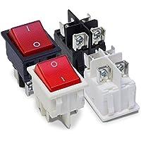 2x KFZ Aufbauschalter Wippschalter mit Gehäuse Armatur Aufbau Schalter