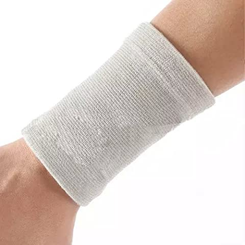 Ezyoutdoor Gym Protector Wristbands 100% Cotton Weightlifting Wrist Support Sport