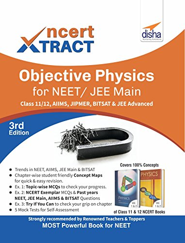NCERT Xtract – Objective Physics for NEET/ JEE Main, Class 11/ 12, AIIMS, BITSAT, JIPMER, JEE Advanced