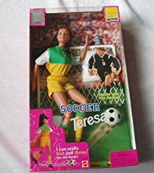 Barbie Soccer Teresa Doll