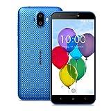 Ulefone S7 Smartphone ohne Vertrag (5 Zoll HD Display, Quad-Core Prozessor, 1 GB RAM, 8 GB Speicher, Dual-Hinterkameras, Dual SIM(Micro-Sim), Android 7.0, GPS) blau