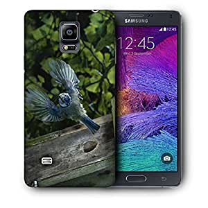 Snoogg Flying Sparrow Printed Protective Phone Back Case Cover For Samsung Galaxy NOTE 4 / NOTE IIII