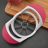 Cortador de mango de manzana cortador de pera mango de plástico rosa de acero inoxidable Sutop PGQ-PK
