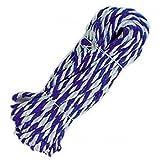 Allzweckseil Kunststoffseil PP Polypropylen Polyseil blau 20mx6mm blau-weiß