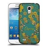 Head Case Designs Bienen Koenigin Gestickter Druck Zitate Ruckseite Hülle für Samsung Galaxy S4 Mini I9190