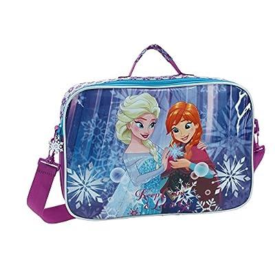 Disney Frozen Keep Calm Mochila Escolar, 7.45 Litros, Color Azul por Disney