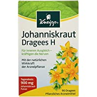 Preisvergleich für Kneipp Johanniskraut Dragees H 300 mg, 90 Dragees