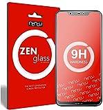 ZenGlass Flexible Glas-Folie für Nokia 8.1 Panzerfolie I Bildschirm-Schutzfolie 9H I (Kleiner Als Das Gewölbte Bildschirm)