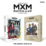 MXM-[Match Up] 2nd Mini Album M+X 2 Ver SET CD+Poster