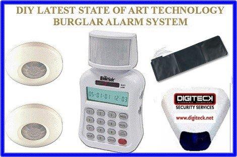 Defender TC199 Bodenmatte, Einbruchalarm, Automatisches Wählen, Passiver Infrarot-Bewegungsmelder/Sensor Auto Dialer-alarm-system