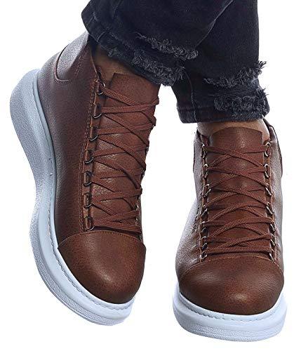 LEIF NELSON Herren Schuhe Freizeitschuhe Boots Elegante Moderne Schuhe für Winter Sommer Männer Sneakers LN163; 44, CA