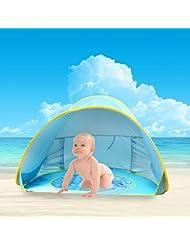 Tienda de Playa para Bebés,Oummit Pop-up Tienda de bebé con Pequeña Piscina