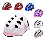 meteor® Casco protector para bicicleta infantil, para niños, talla pequeña (S, PRINCESS)