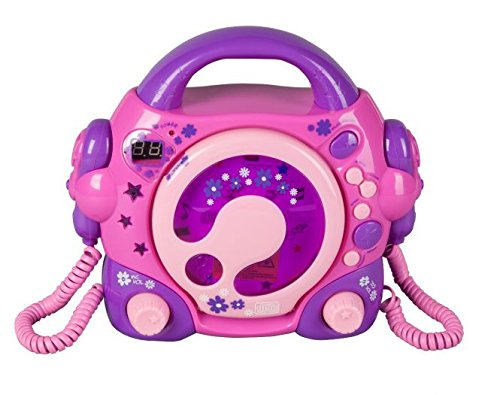 Besttoy CD Player mit 2 Mikrofon...