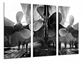 Modernes Wandbild fotografico Schiff Vintage drei Helices Riesen, Film Titanic, 97x 63cm, Ref. 27008