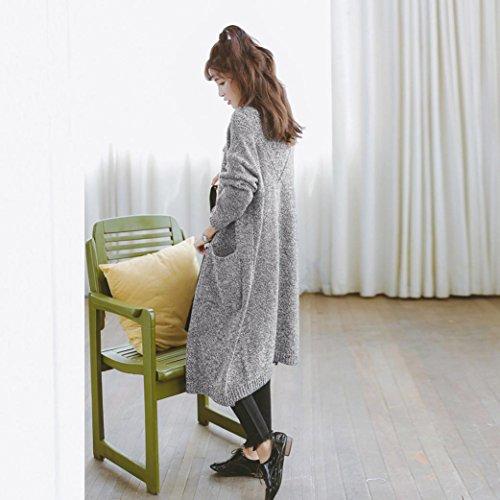 Lanspo - Gilet - Femme Taille Unique Gris