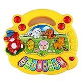 Baby Toys, SHOBDW 1PC New Useful Popular Baby Kid Animal Farm Piano Music Developmental Toy (17 x 15 x 3cm, Random)