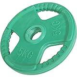 Hantelscheiben Gripper Gummi 1,25kg-25kg, 30/31mm (30 KG Set ( 2x5 & 2x10 KG)) -