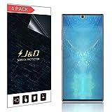 J&D Lot de 4 Films protecteurs d'écran pour Samsung Galaxy Note 10+ (Pas en Verre),...