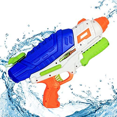 MOZOOSON Pistolet à Eau Adulte Longue portée1200ml Suqirt Gun 10-12m Rage de tir, Jouets pour Le Plaisir de l'eau...