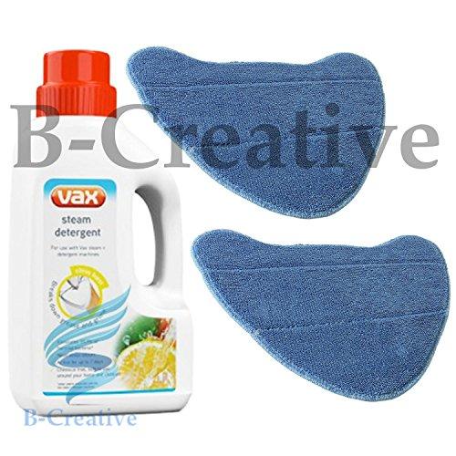 b-creative Vax Dampf Waschmittel + 2Dampfreiniger Mop Bare Floor Pads-S2-S2S S2C S2S S2ST - Vax Floor