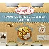Babybio Pots Pomme de Terre du Val de Loire/Cabillaud 400 g -