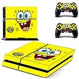 SpongeBob Squarepants-ps4 Playstation 4 Phantom Pain Limited Edition Vinyl Decal Skin Sticker by Bestlovelin