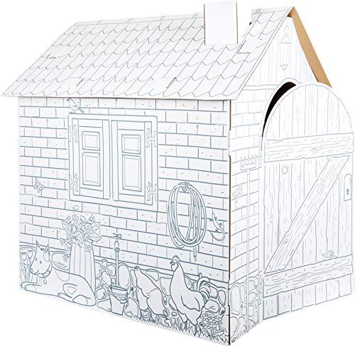 Small Foot - Casa de Juegos de cartón 10015