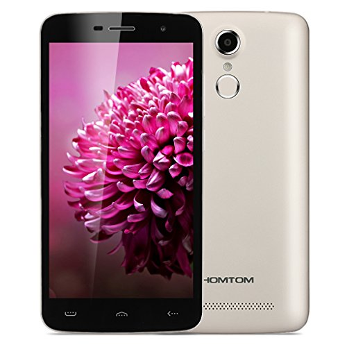 HOMTOM HT17 - 4G Smartphone Android 6.0 Libre Multitáctil (Pantalla 5.5'' IPS, MT6737 Quad Core 1.3GHz , 1GB RAM, 8GB ROM, GPS, WIFI)