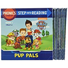 ‏‪Paw Patrol Phonics Box Set (Paw Patrol): 12 Step Into Reading Books‬‏