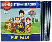 Paw Patrol Phonics Box Set (Paw Patrol): 12 Step Into Reading Books