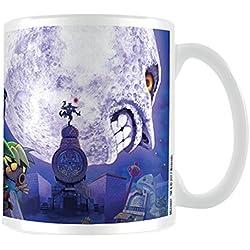 """La Leyenda de Zelda """"Majora de máscara Moon"""" taza de cerámica, multicolor"""