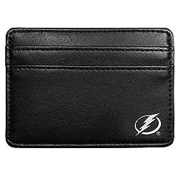 NHL Tampa Bay Lightning Leather Weekend Wallet, Black