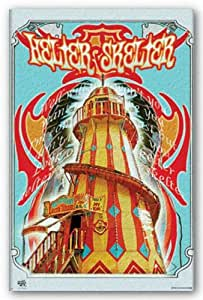 Helter Skelter - The Beatles Art Print Poster