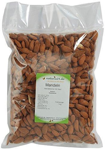 Image of Naturix24 Mandelkerne, mandeln ohne Schale ganz, 1er Pack (1 x 1 kg)