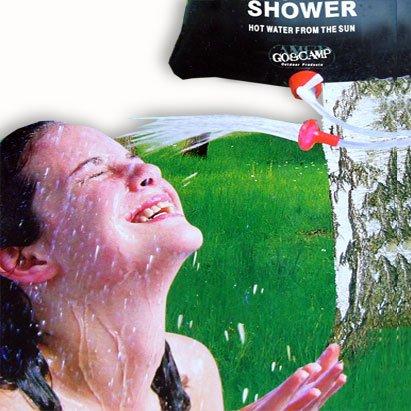 Solar Campingdusche 15 Liter Gartendusche Duschbeutel Garten Camping Dusche Solar Dusch Beutel