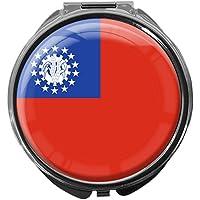 Pillendose/rund/Modell Leony/FLAGGE MYANMAR preisvergleich bei billige-tabletten.eu