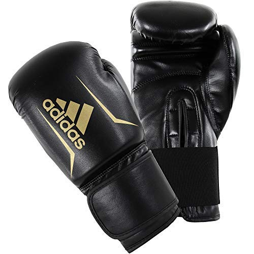 adidas Guantoni da Boxe Boxing Glove Speed 50, Nero, 12, ADISBG50