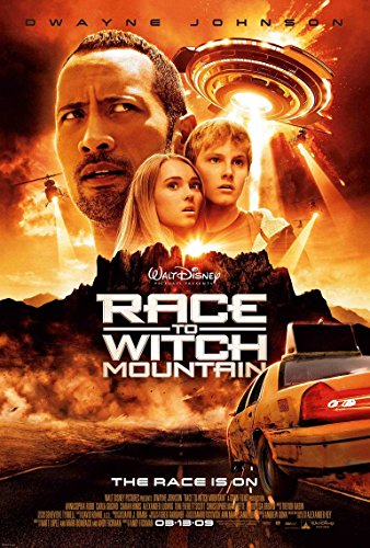 Race To Witch Mountain Movie Poster 70 X 45 cm Race To Witch Mountain
